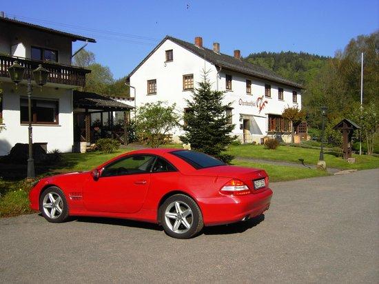 Der Gasthof Ohrnbachtal