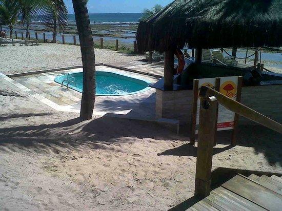 Summerville Beach Resort: Marzão ao fundo
