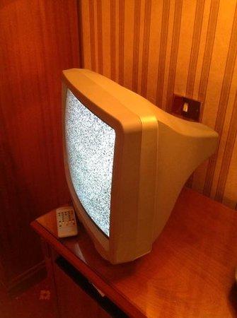 Hotel Torino: la TV de la chambre 514