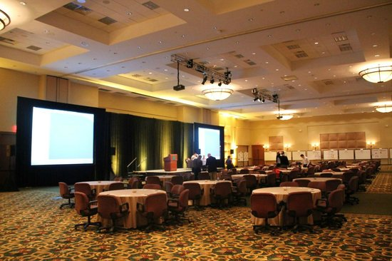 The Woodlands Resort: The large conference hall