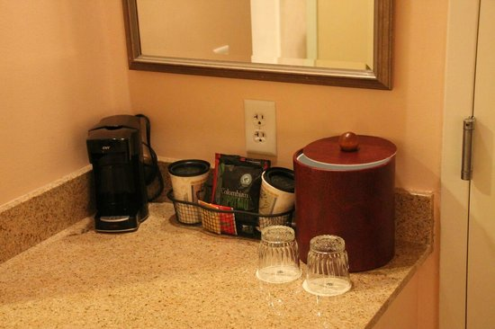 The Woodlands Resort & Conference Center: Coffee station