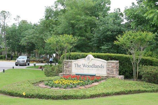 The Woodlands Resort: Entrance