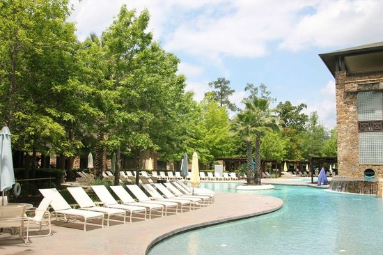 The Woodlands Resort: Part of the pool area