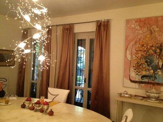 Buonanotte Garibaldi B&B: Dinning Room