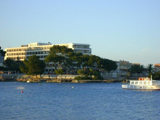 Hostal Mar y Huerta : view from bay es cana