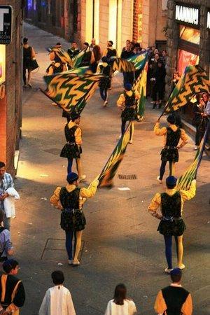 B&B Il Corso: A vista da varandinha