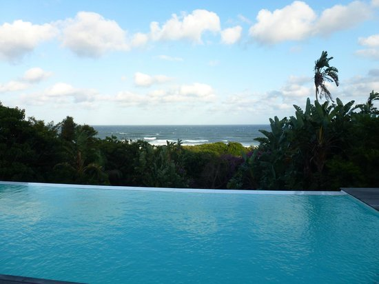 Days At Sea Beach Lodge: View from the infinity pool