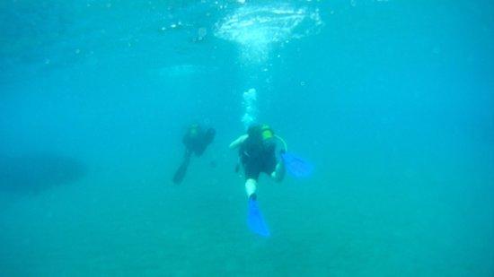 Aquaholics Dive Centre: Taylan and Andy