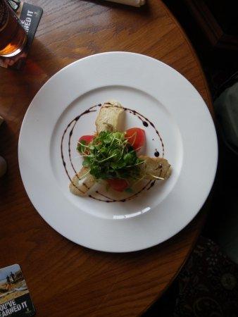 The Wellington Hotel: The Ham Hock Salad starter