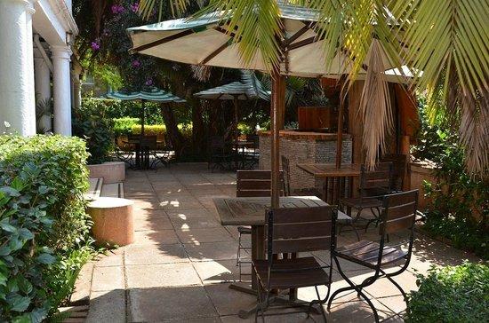 Sirona Hotel Nairobi: Sirona Hotel Barbeque Terrace