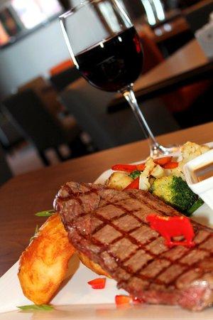 Le Chêne Blanc : Steak 8 onces