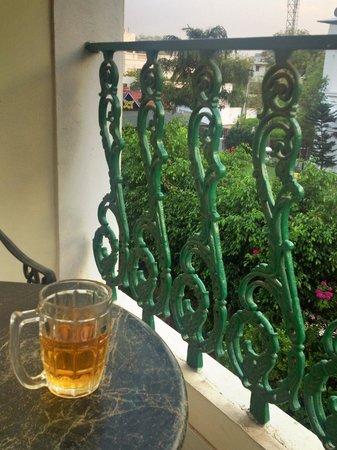 Barwara Kothi: Private balcony