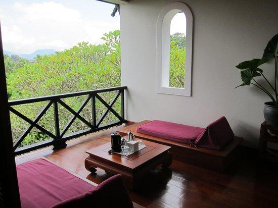 Belmond La Residence Phou Vao: Balcony
