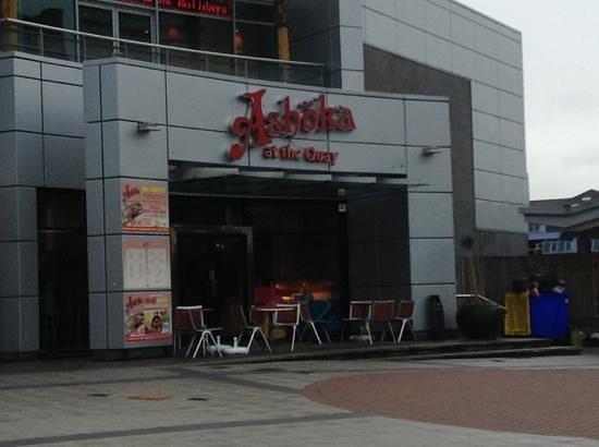Ashoka @ The Quay: restaurant front