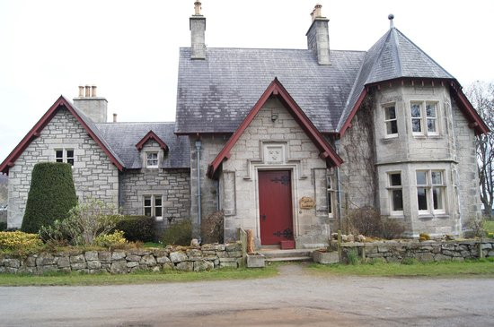 Clynelish Farm - front of the house