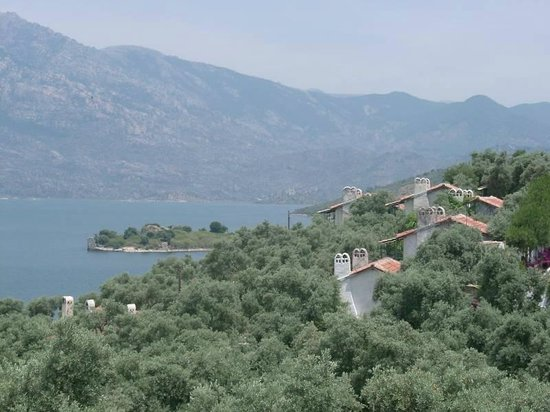 Hotel Silva Oliva : View on our houses and Lake Bafa
