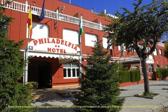 Hotel Philadelfia: Entrada Principal