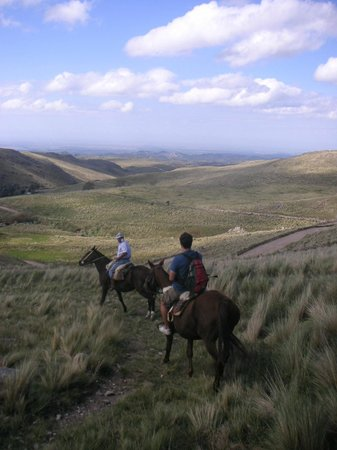 Hostel La Cumbre: Horse Backride in the Sierras Chicas La Cumbre