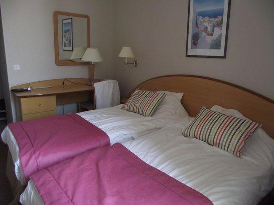 Hotel Balmoral: Une chambre vue mer au Balmoral Menton