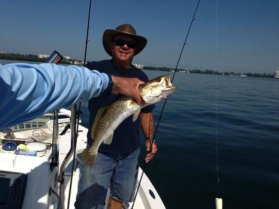 Lucky Dawg Fishing Charters: dinner!