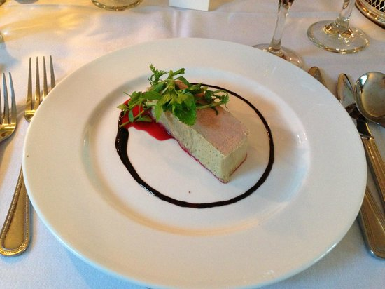 Greshornish House Hotel: The liver parfait starter
