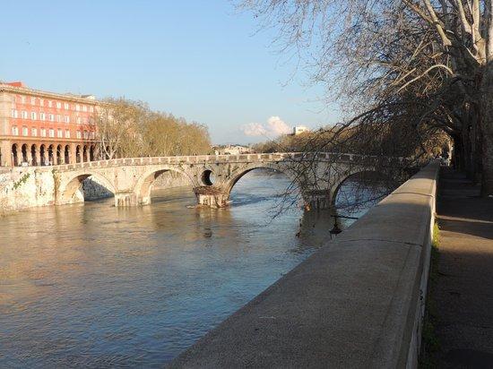Fontana del Ponte Sisto: Ponte