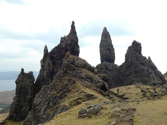 The old Man of Storr landscape