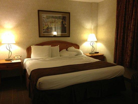 Ohio House Motel : King bed