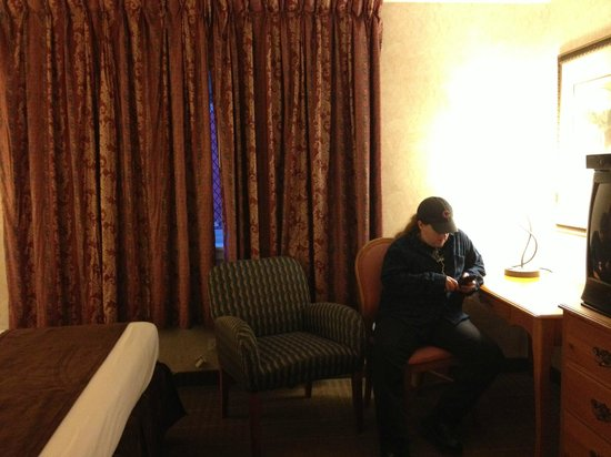 Ohio House Motel : Small rooms, but comfortable