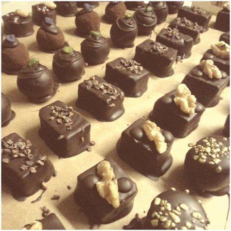 Honigmond : home-made chocolate praline