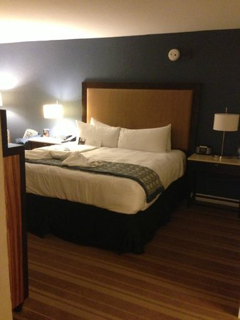 InterContinental Hotel Tampa: Bed