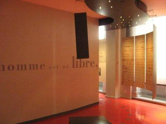 MRL - Maison de Rousseau et de la Littérature: espace rousseau 4