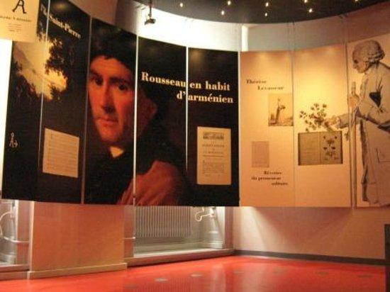 MRL - Maison de Rousseau et de la Littérature: espace rousseau 2
