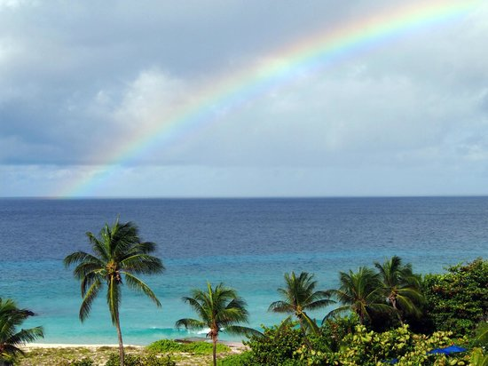 Hilton Barbados Resort: rainbow
