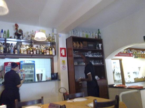 Pirassununga, SP: Vista parcial do restaurante