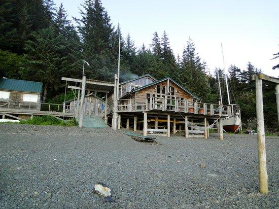 Alaska's Sadie Cove Wilderness Lodge: The social lodge