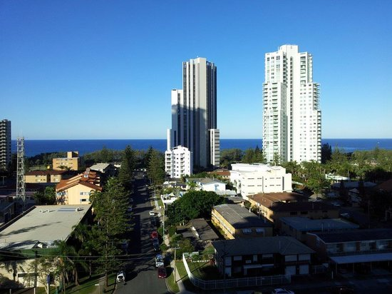 Meriton Serviced Apartments - Broadbeach: view from 12th floor