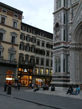 Granduomo Charming Accomodation: External view of Granduomo - Duomo in foreground, extremely close!