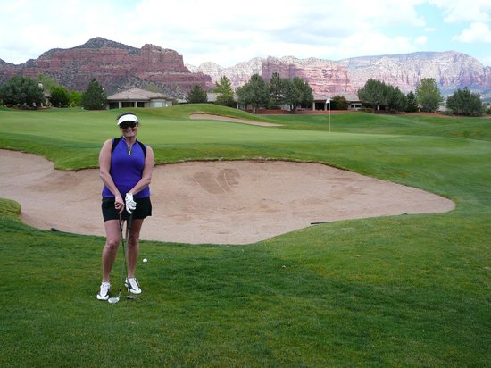 Sedona Golf Resort: view from one hole