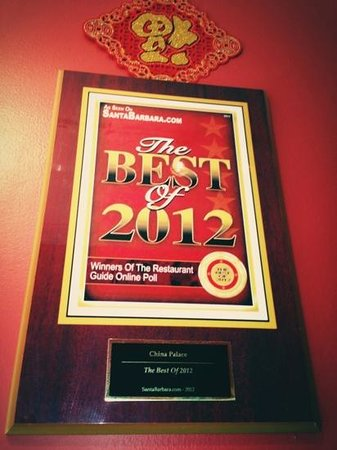 China Palace: The Best of 2012