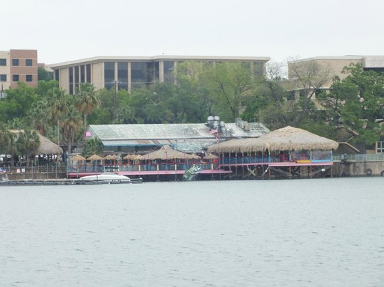 Austin Duck Adventures: The biggest restaurant on the lake.