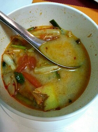 Khaw Glong Thai Restaurant: prawn tomyum is delicious!  ask for thick soup