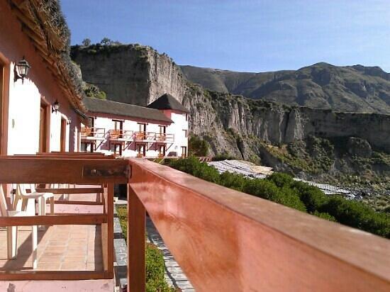 Hotel El Refugio: ninguna foto hace justicia a este bello paisaje