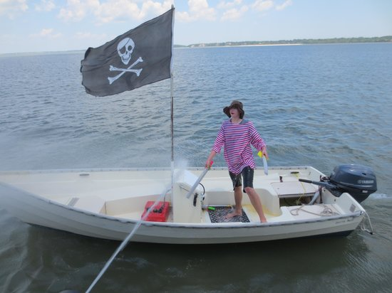 Pirates of Hilton Head : Stinky Pete!!