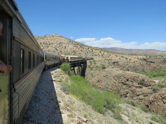 Verde Canyon Railroad: It's a long train!