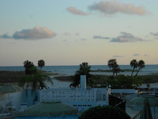 Algiers Gulf Resort: View of the Gulf from our balcony