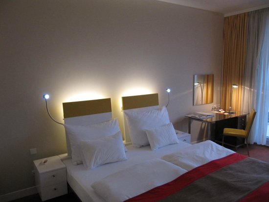 andel's by Vienna House Prague: Room 503 Bed
