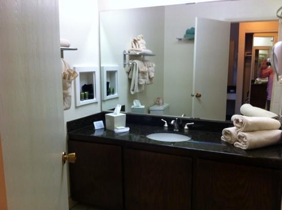 River Terrace Inn: salle de bain