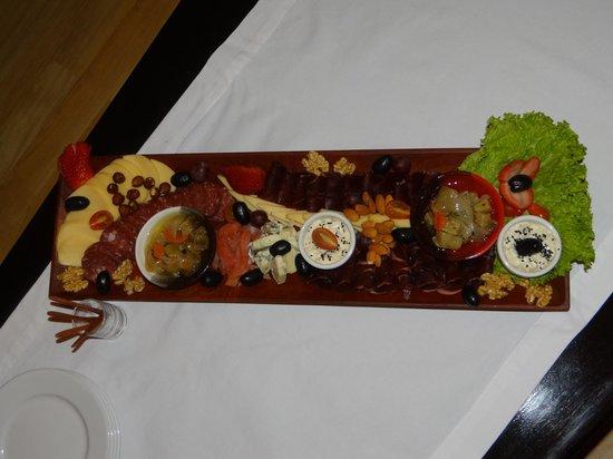 Rio Hermoso Hotel de Montana: Excelente comida