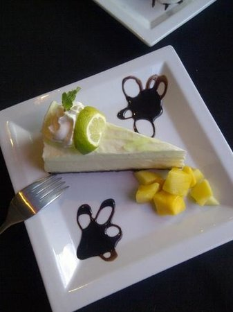 Sublime Food & Wine: key lime cheesecake